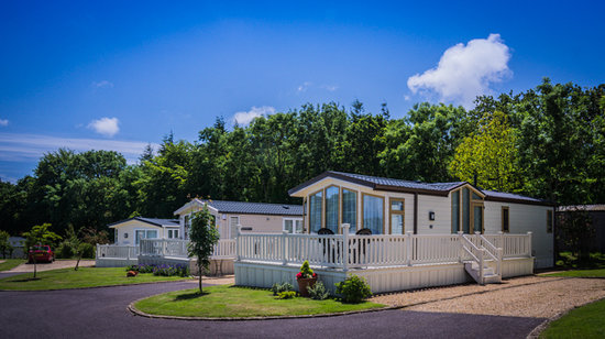 Monkton Wyld Caravan and Camping Park: Static Holiday Homes