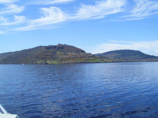 Loch Ness Lodge: Urquhart Castle vom Schiff aus