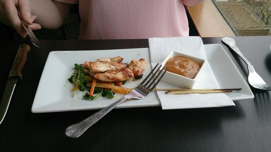 The Brasserie @ Mercure hotel Piccadilly Manchester: Chicken Skewers