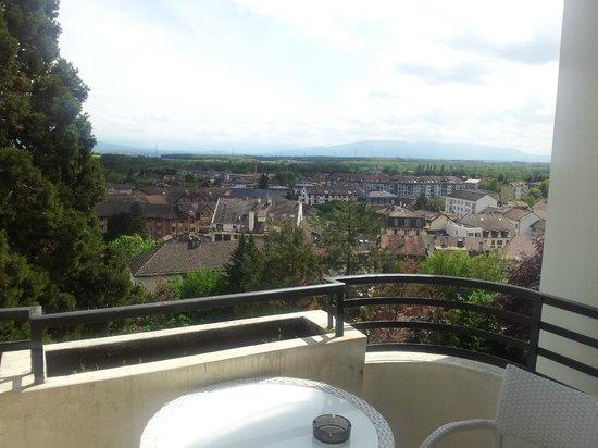 Domaine de Divonne : Vue du balcon