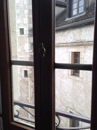 Hôtel Athanor : desde la ventana del cuarto