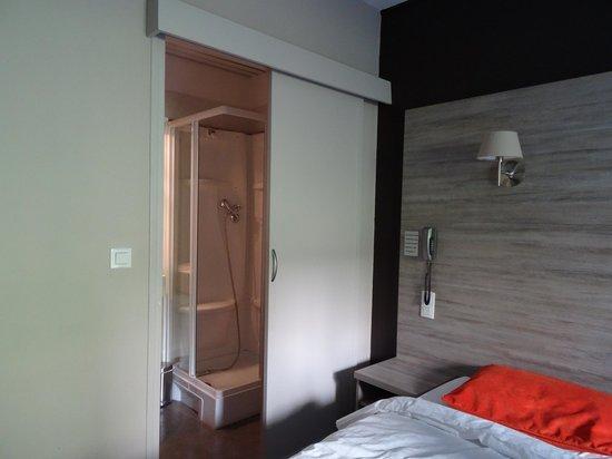 Thalassa Hotel : Vue depuis le lit