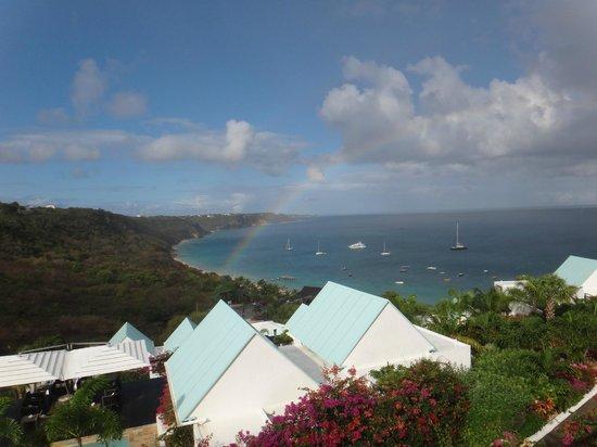CeBlue Villas and Beach Resort: Somewhere over the rainbow . . .