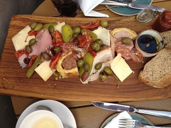 Mannion And Co: sharing grazing platter