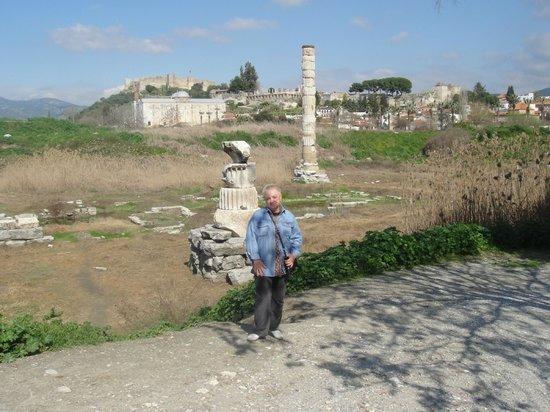 The Temple of Artemis (Artemision): Колонна храма Артемис
