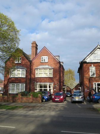 Ashbourne House from over the road
