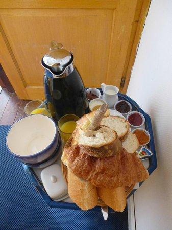 Maison Blanc Nez : petit-déjeuner