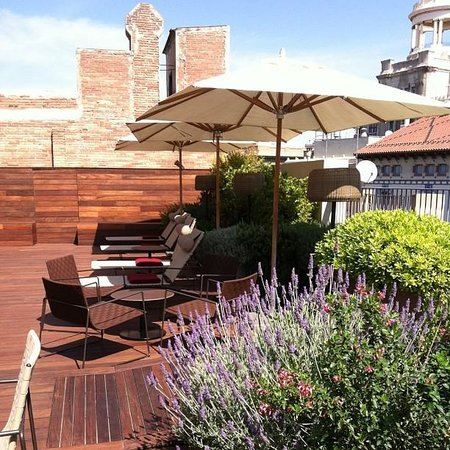 Mercer Hotel Barcelona: Rooftop Deck (with dip pool)