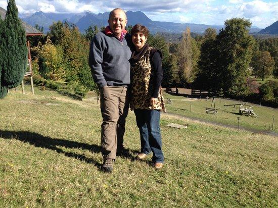 Mirador los Volcanes : En el sector de la cabaña 1