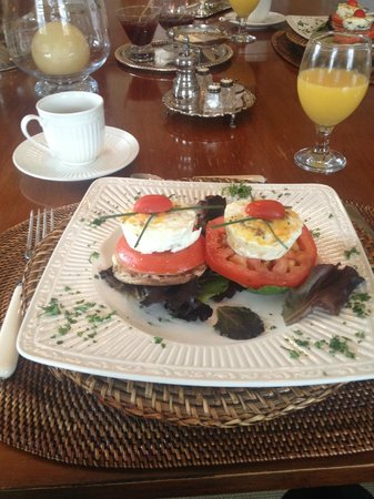 The Morning Glory Bed & Breakfast: Healthy Eggs Benedict