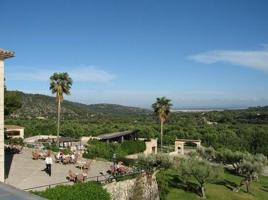 Hotel Rural & Spa Monnaber Nou: Sicht vom Hotelgelände
