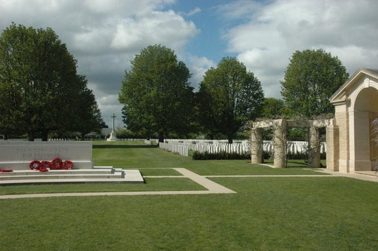 British War Cemetery in Bayeux