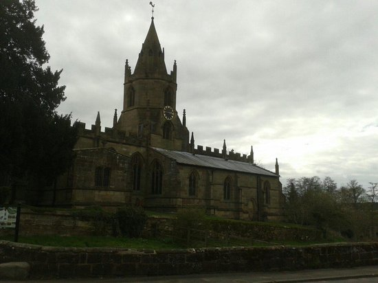 Tong, UK: Tong church from the front