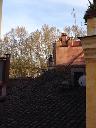 Relais Orso : Vista dei tetti