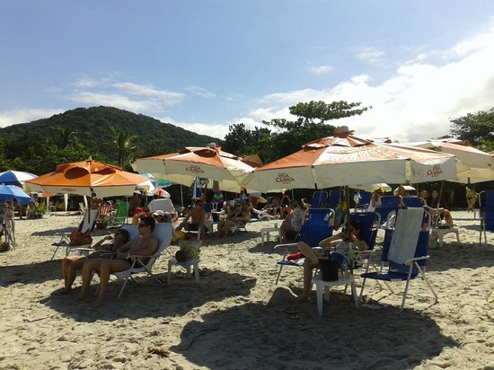 Pousada Villa Camboa : Servicio de playa