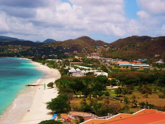 The Flamboyant Hotel & Villas: The view from our room