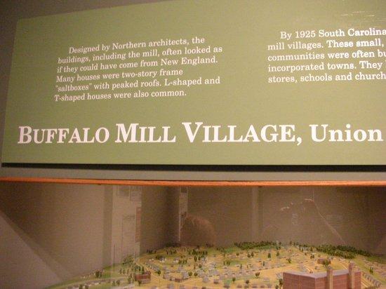 South Carolina State Museum : mill village