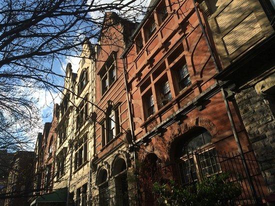 Harlem Heritage Tours: Construction typique dans le quartier de Harlem