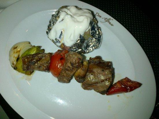 Don Alfonso : Fillet Steak Kebab