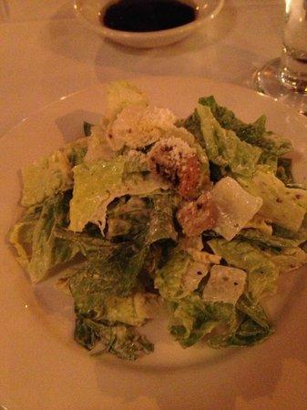 Vittoria Trattoria: Caeser salad