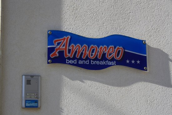 Amoreo Bed and Breakfast : B&B