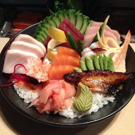 The Bento Box sushi: Assortment