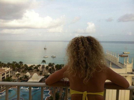 Hotel Riu Palace Aruba: Visuale dalla camera