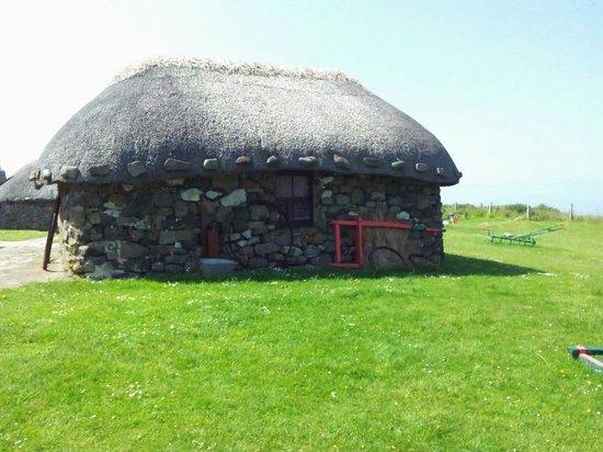 Skye Museum of Island Life : Eines der Häuser.
