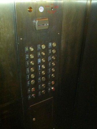 Old School Elevator Picture Of Kimpton Ink48 Hotel New