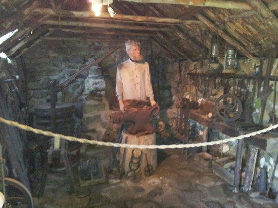 Skye Museum of Island Life : Die Schmiede.