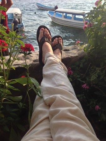 La Iguana Perdida Hotel: Relaxing