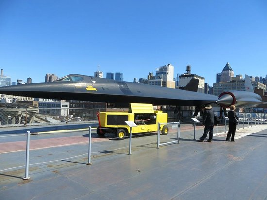 Intrepid Sea, Air & Space Museum: Lockheed supersonic reconnaissance aircraft.