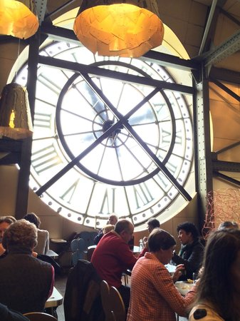 Musée d'Orsay : The clock in the Café