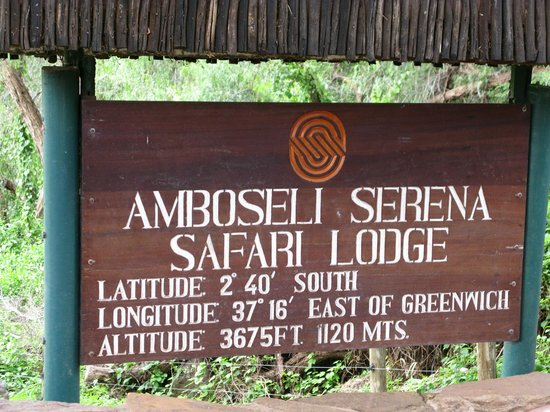 Amboseli Serena Safari Lodge: Serena Safari Lodge