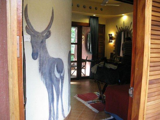Amboseli Serena Safari Lodge: Our room