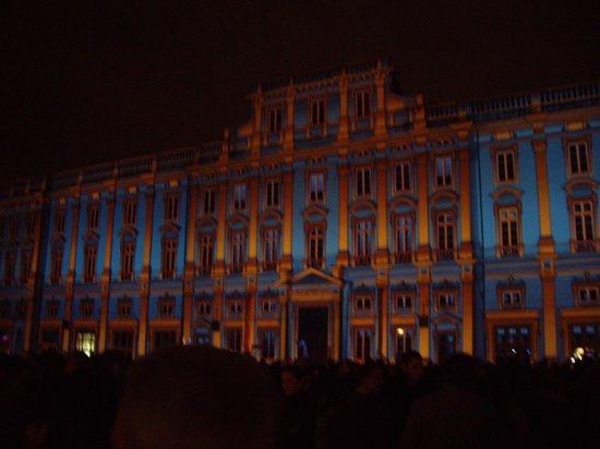 Musée des Beaux-Arts de Lyon : Musée des Beaux Arts lors de la fête des Lumières