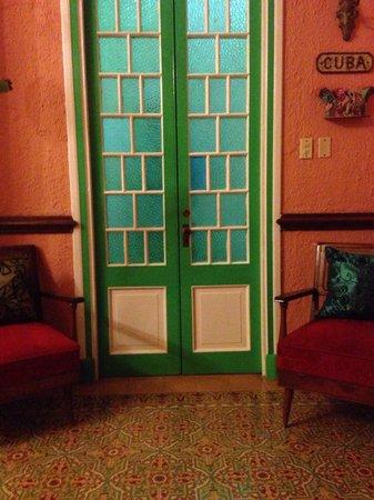 Our room in casa cristo colonial