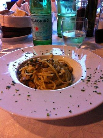 AtaHotel Villa Pamphili : Due spaghettini non guastano mai