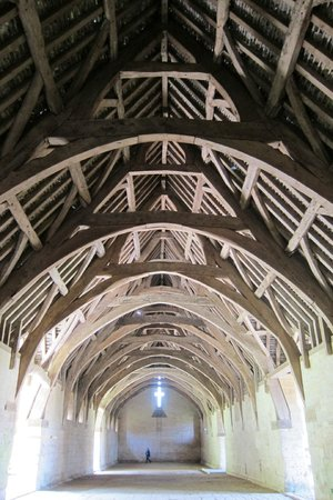 Tithe Barn: Magnificent roof structure