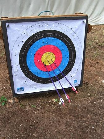 Forest Holidays Thorpe Forest: My score - the Haribo motivated me!