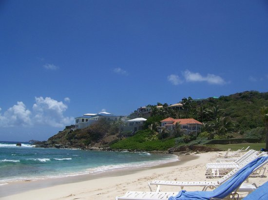 The Westin Dawn Beach Resort & Spa, St. Maarten: Beach view