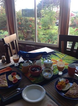Taura'a Hotel : colazione