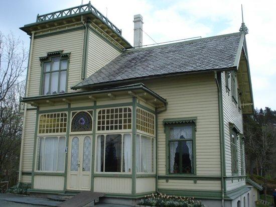 Edvard-Grieg-Museum Troldhaugen: Greig's house