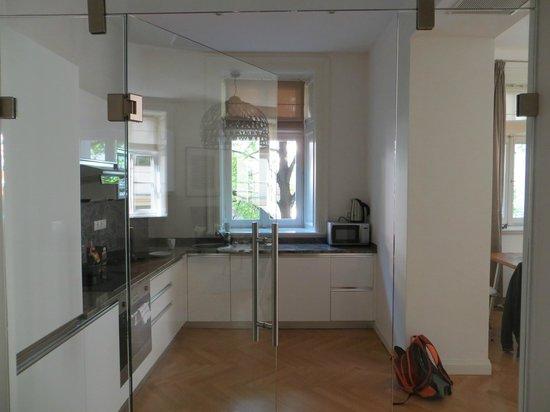 Retezova Apartments : the kitchen