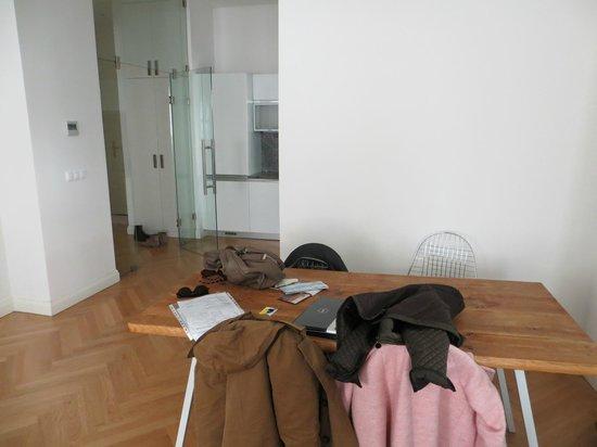 Retezova Apartments : living room