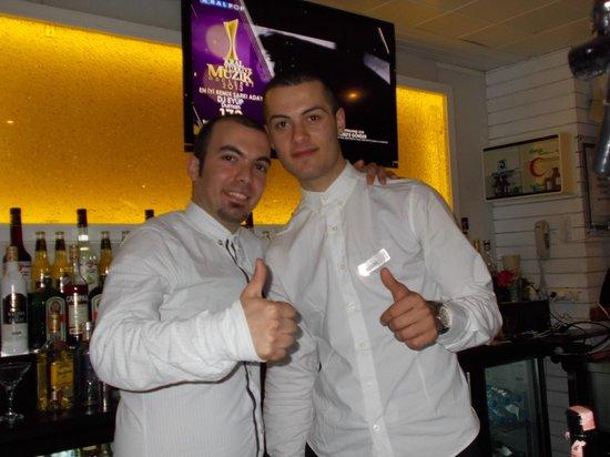 Hotel Cettia Beach Resort: Mehmet & Can