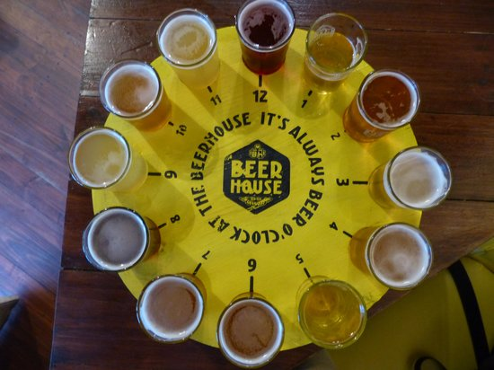 Beerhouse on Long: The Beer O'Clock Sampler