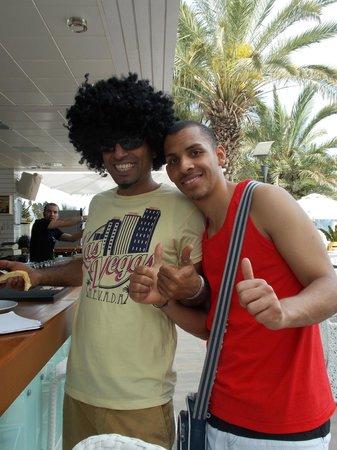 Hotel Cettia Beach Resort: Ozzy & Steven