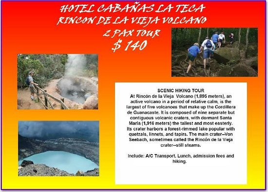 Hotel Cabanas La Teca: TOURS