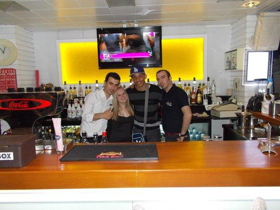 Hotel Cettia Beach Resort: Orhan, me, Steven & Mehmet